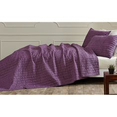 3-Piece Raquel Cotton Quilt Set | Joss & Main