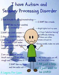 Sensory integration dysfunctions in autistic children - Sensory integration, Children's Therapy Center - SensoryKids.ie