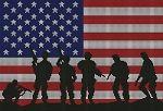 American Soldier Flag Crochet Pattern