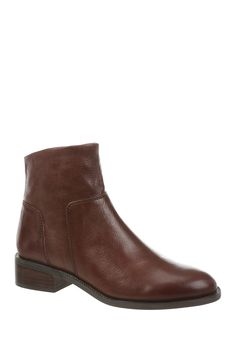 Franco Sarto | Benny Leather Ankle Boot | Nordstrom Rack