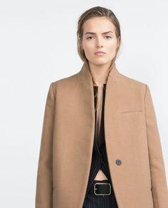 Image 3 of MENSWEAR COAT from Zara