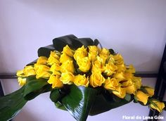 Floral Lena Góis: 'Laços' de rosas
