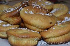 Творожные маффины с вишней Pretzel Bites, French Toast, Muffin, Bread, Breakfast, Recipes, Food, Morning Coffee, Rezepte
