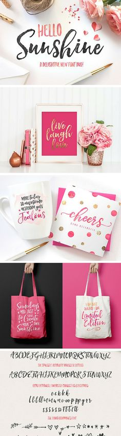 Loving this fun and cheerful script font