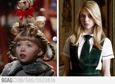 Cindy Lou from THe Grinch now