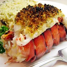 Recipe: Broiled Lobster Tails Recipe (So simple, but I missed it. Save a lot of time over steaming and meat was nicely seasoned)