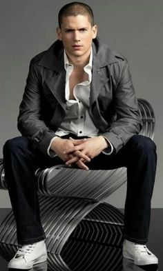 Wentworth Miller photo shoot