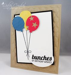 Always Playing with Paper: Seize the Birthday and Color Throwdown {Bunches of Birthday Wishes}