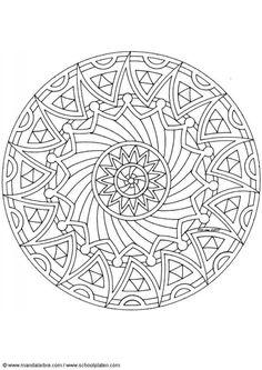 Coloring page mandala-1502k