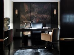 Art Deco Workspace in Cheshire, GB by Janine Stone & Co