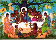 Trinidad, Prayer Line, Liberation Theology, Christian Art, Barrero, Prayers, Html, Painting, Closet