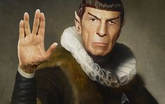 """Old Masters Remastered"" – Mister Spock & R2D2 reisen in die Vergangenheit"