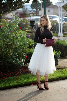 She Said He Said: Holiday in Tulle