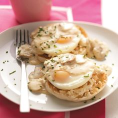 Quick Eggs Benedict Recipe -The hearty serving size and traditional, decadent flavor of Eggs Benedict will have your dining companion running to the table. —Gilda Lester, Millsboro, Delaware