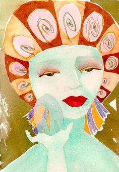 Art by my talented friend Kate.
