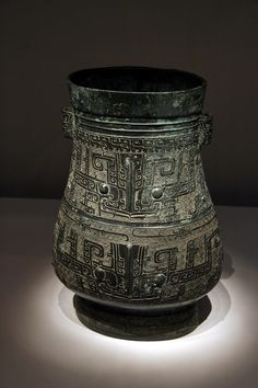 https://flic.kr/p/kPmRHB   술 담는 항아리   기원전 12~11세기 새문양 항아리
