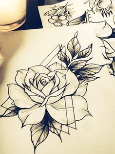 Skull Rose Tattoos, 12 Tattoos, Sweet Tattoos, Sister Tattoos, Love Tattoos, Beautiful Tattoos, Body Art Tattoos, Small Tattoos, Tattoo Sketches
