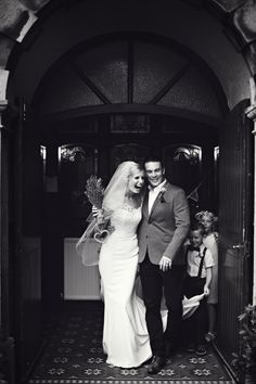 Gorgeous Rachel in her customized Ellis gown... looking stunning!