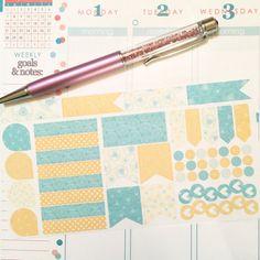 Erin Condren Set Planner Stickers - T4