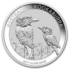 2017 Australian Silver Kookaburra 1oz Bullion Coin