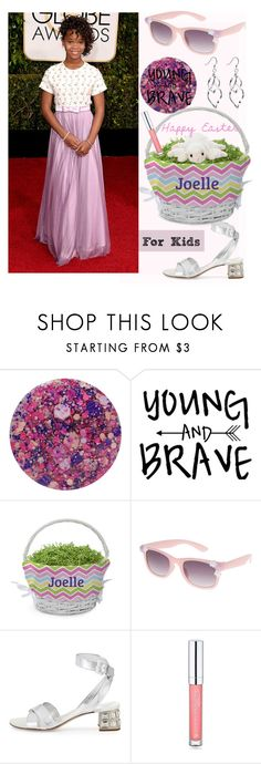 """Lavender & Pink for Kids"" by earthangell on Polyvore featuring Nails Inc., Accessorize, Miu Miu, Forever 21, Easter and kids"