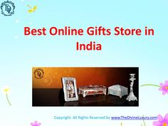The Divine Luxury brings you an amazing experience of online shopping in India. It gives us immense pleasure in sharing our exclusive products with you. They are uniquely designed and are only available at out online gift shopping website http://www.TheDivineLuxury.com/