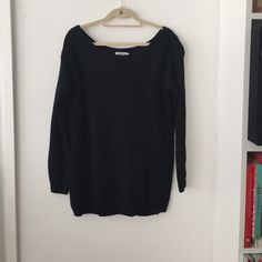 Nasty gal Boyfriend knit dress Sweater mini dress. Wear it off the shoulder for a super chic look. Never been worn. New with tags. Nasty Gal Dresses Mini