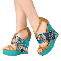Topanga - JustFab  These are CRAZY!  But I totally love them!
