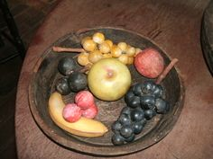 Fruit Love, Stone Fruit, Fruits And Vegetables, Primitive, Marble, Decorating, Country, Antiques, Food
