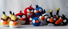 Angry Birds Get Crafty, Plush and Stuffed with Rice