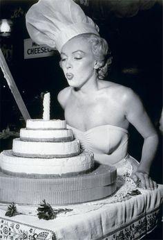 Marilyn Monroe. #cake #birthday