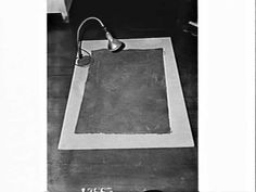 Carpet which covered Dr. Gilbert Bogle in the new year Chandler-Bogle murder mystery, Police C.I.B., Sydney, 16 Jan 1963.  From the collections of the State Library of NSW.