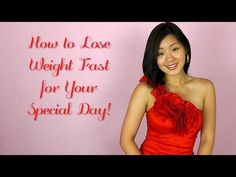 How to Lose Weight Fast for Your Special Day