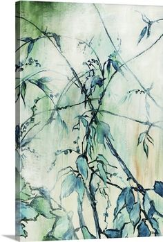 """Turquoise Garden"" by Rikki Drotar via @greatbigcanvas at GreatBIGCanvas.com."
