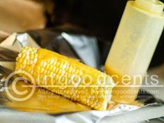 Garlic Butter Corn-on-the-Cob Baste Recipe on In Good Cents