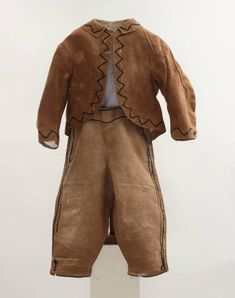 Boy's Tan Suit :: Conner Prairie Historic Clothing Collection