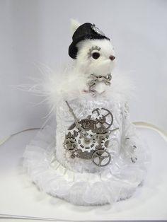 White Rabbit Steampunk Created By Dr. Brassy