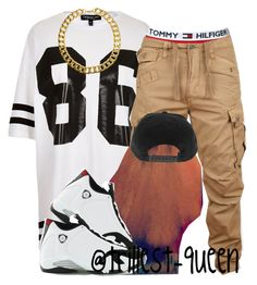 """""""."""" by trillest-queen ❤ liked on Polyvore featuring Topshop, Tommy Hilfiger, G-Star Raw, Retrò and Gogo Philip"""