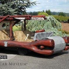1994 Flintmobile George Barris Kustom at LeMay - America's Car Museum Tacoma, WA #Kids #Events