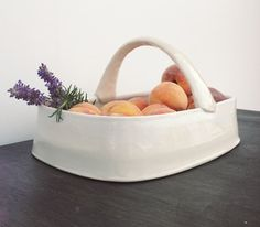 Large-Handled Good-Weather Serving Basket on Etsy pots be anderson bailey