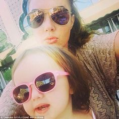 They're busy enjoying the winter sunshine in Dubai. But Tamara Ecclestone still found time to post some of the most adorable snaps yet of her, husband Jay Rutland, and their 21-month-old daughter Sophia on their family getaway.  The stunning 31-year-old, who's clearly having fun with her two favourite people, shared a silly selfie on Wednesday of her and her little mini me, both in sunglasses, posing for the camera.