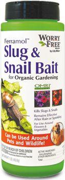 Worry Free® : Worry Free Brand Slug Snail Bait Granules : Overview