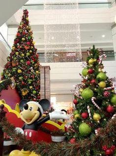 Shopping ABC recebe Mickey e seus amigos em sua decoração de Natal | Jornalwebdigital