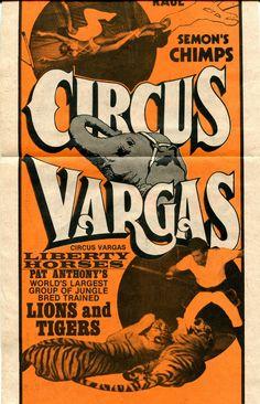 Circus Vargas ad