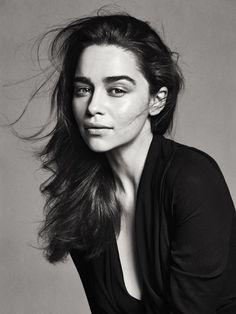 Emilia Clarke by Sebastian Kim for Rolling Stone 2013