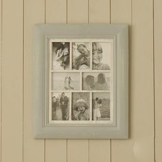 small grey multi frame by out of love | notonthehighstreet.com
