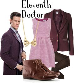 The Eleventh Doctor re-invented his wardrobe and forgot (if only momentarily) what gender he was.