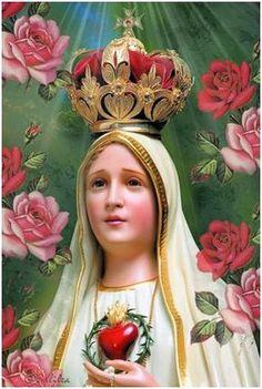 Hermosa y Milagrosa Oración Virgen de Fátima! Oh Virgen Santísima de Fátima, Vos os aparecisteis repetidas veces a los niños; yo también quisiera veros, oír