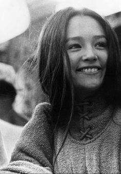 Olivia Hussey (Franco Zeffirelli's Juliet) - she has to be one of the most beautiful women ever