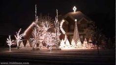Holdman Christmas Lights 2010 - Complete Show, via YouTube.